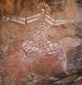 Australië - Aboriginal schildering