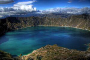 Ecuador Galápagos - Laguna de Cuicocha