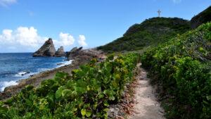 Guadeloupe wandelpad