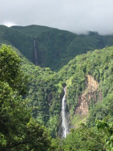 Guadeloupe - Carbet watervallen