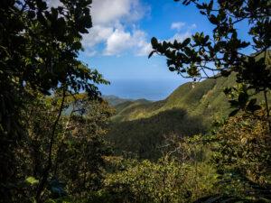 Guadeloupe - berglandschap