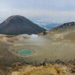 Japan-Hokkaidō - Mount Meakan