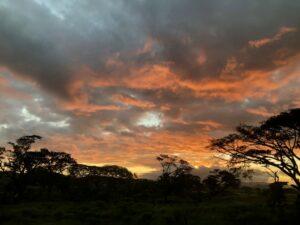 Papoea Nieuw Guinea - zonsondergang