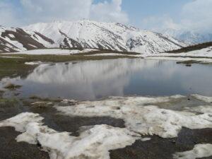 Iran - bergmeer