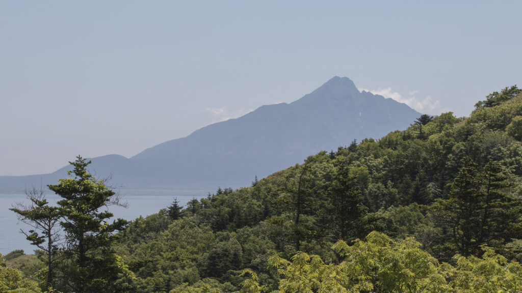 Japan Hokkaidō - vulkaan