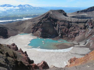 Kamchatka - Gorely vulkaan