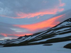 Kamchatka - zonsondergang