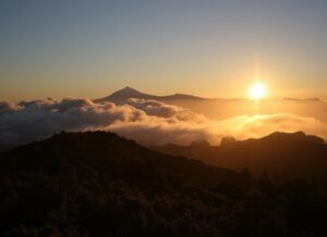 La Gomera - zonsondergang