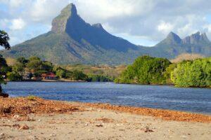 Mauritius - berglandschap