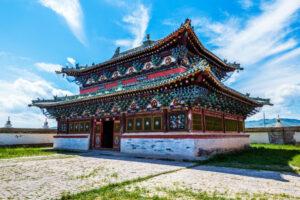 Mongolië - Erdene Zou klooster