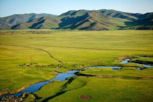 Mongolië - desolaat landschap
