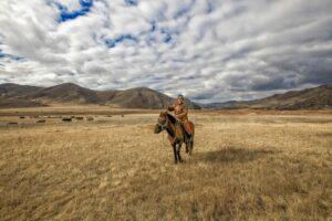 Mongolië - lokale man