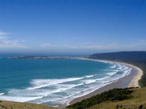 Nieuw Zeeland - kustlijn