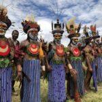 Papoea Nieuw Guinea - Mount Haagen festival