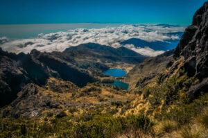 Papoea Nieuw Guinea - berglandschap