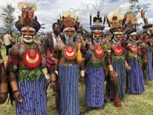 Papoea Nieuw Guinea - Mount Haagen show