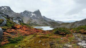 Patagonië - bergmeer