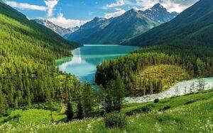 Rusland Altai - meer