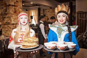 Rusland Altai - lokaal restaurant