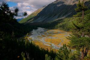 Rusland Altai - Altai bergen
