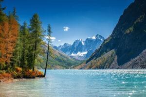 Rusland Altai - bergmeer