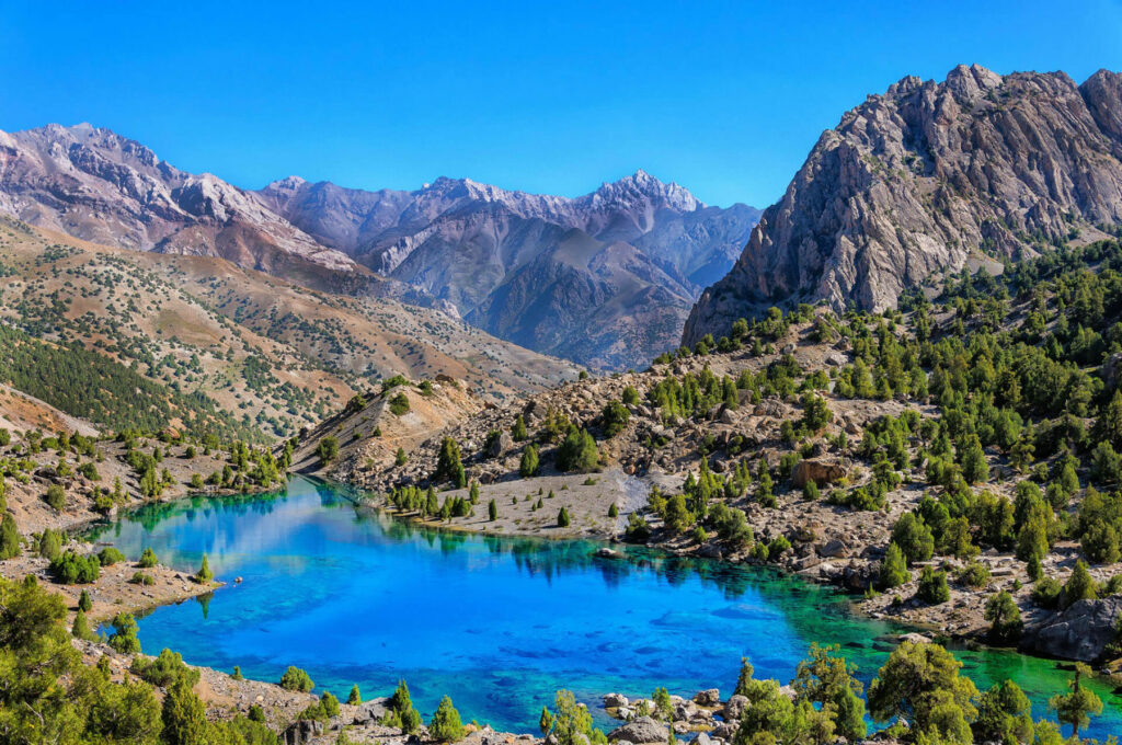 Tadzjikistan - meer