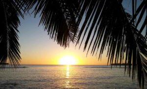 Vanuatu - zonsondergang