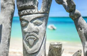 Vanuatu - standbeeld