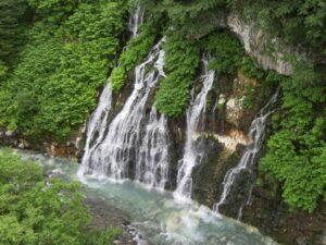 Japan-Hokkaidō - waterval
