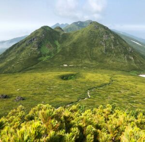 Japan-Hokkaidō - Mount Rashū
