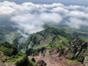 Japan-Hokkaidō - Rishiri vulkaan