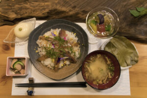 Japan-Hokkaidō - maaltijd