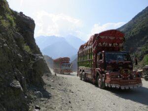 Pakistan K2 trekking - Karakoram Highway