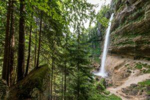 Slovenië - waterval